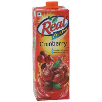 Real Fruit Power Cranberry Juice 1 Litre